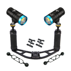 "Kraken ""Best Quality"" Underwater Dual Light Package for GoPro, Paralenz"