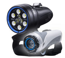 Light & Motion Sola Dive 2500 S/F and GoBe 500 Light Combo
