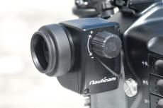 Nauticam 180 Viewfinder on Camera