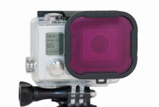 Polar Pro Aqua Series Magenta Filter For GoPro