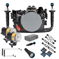 Nauticam Canon EOS R5 Ultimate Underwater Package