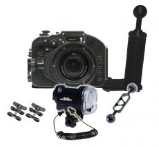 Recsea CW Sony RX100 IV Housing & Strobe Value Package