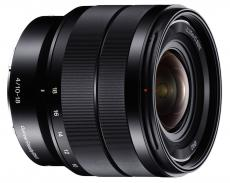 Sony 10-18mm wide-angle lens