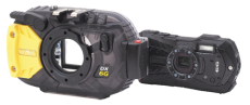 Sea & Sea DX-6G Rugged Sports Camera and Underwater Housing