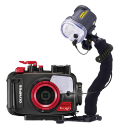 Olympus TG-6 Housing and Strobe Package