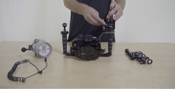 How to Set Up Arms and Clamps on Your Underwater Camera Housing