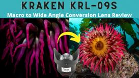 Kraken KRL-09S Macro to Wide Angle Conversion Wet Lens Review