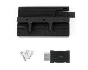 Nauticam Bracket for Atomos Connect S2H with HDMI A to C Adapter