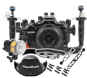 Nauticam Sony A7R III Housing, Port and Strobe Package