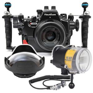 Nauticam Sony A7 II Housing, Port and Strobe Package