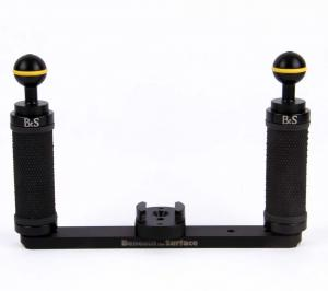 Beneath the Surface GoPro Dual Tray with Ball Mounts