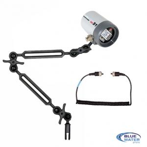 Ikelite DS-51 Strobe Package with arms and sync cord