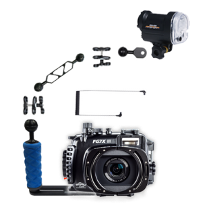 Fantasea Canon G7X III Housing and YS-01 Strobe Package