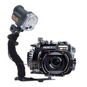 Fantasea Canon G7X II Housing and YS-03 Solis Strobe Package