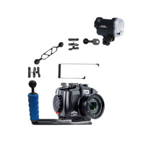 Fantasea RX100 VI LE Housing and YS-01 Strobe Package