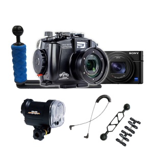 Fantasea RX100 VI Camera, Housing and YS-01 Strobe Package