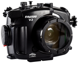 Fantasea Sony A6300/A6500 V2 Front of Underwater Housing