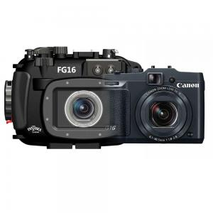 Fantasea G16 underwater housing and Canon G16 camera bundle