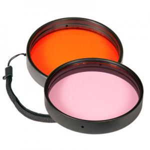 "Ikelite Pink Filter for Green Water, 3.9"" Ports"