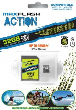 MAX-Flash Hyperspeed 32GB micro SD card