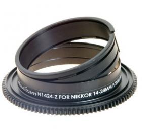 Nauticam zoom gear for Nikon 14-24mm lens for underwater photography