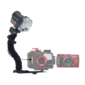YS-03 Solis Strobe Package for Olympus TG-5 Camera & Underwater Housing