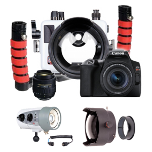 Ultimate Ikelite Canon SL3 Bundle - the World's Smallest DSLR Wide Angle Package!