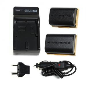 SmallHD LP-E6 Battery and Charger Kit