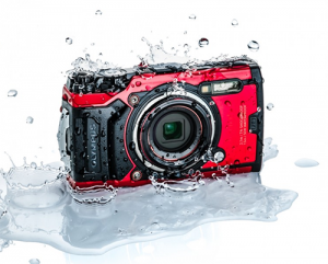 Olympus Tough TG-6 Camera Red
