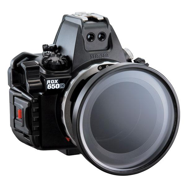 Sea & Sea Canon 700D T5i Housing With Standard Port Package