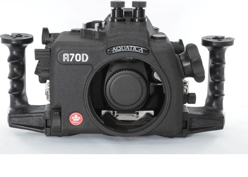 Aquatica canon 70d underwater housing