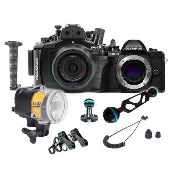 Gadget Place Twin Arms Shoe Mount for Olympus OM-D E-M5 II E-M10 E-M1