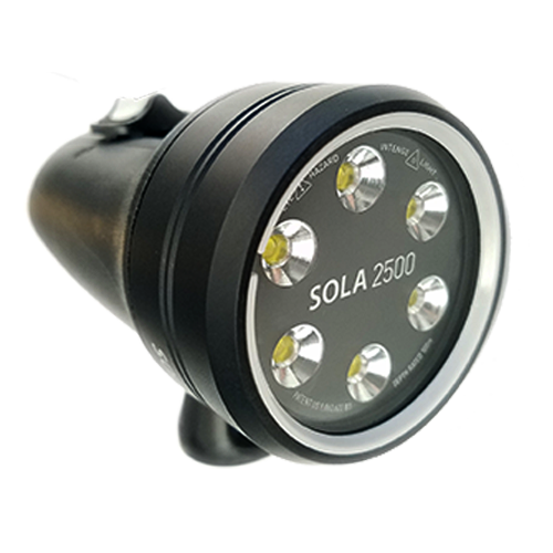 Light Motion Sola 2500f Underwater Video Bluewater Exclusive